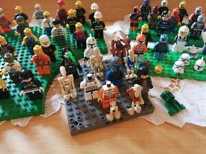 Lego Star Wars City Mixed minifigures bundle Job Lot X 50 Genuine Figures Darth