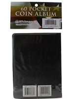 Coin Album Wallet Stock Book for 2x2 Flips Holders Collection Display 60 Pockets