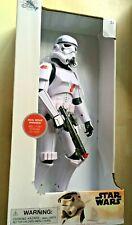 BNIP New Disney Store Star Wars Stormtrooper Talking Action Figure Movie Phrases
