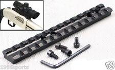 "5.5"" Picatinny Weaver 20mm Rail Mount 13 Slots Fit For Rifle/Scope/Shotgun #z10"