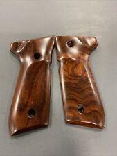 Beretta 92F Grips Herrett Smooth Cocobolo New Condition