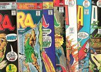 Kobra #1 2 3 4 5 6 7 COMPLETE SERIES RUN / SET! VF+ 8.5 1976-77 1ST APP KOBRA!