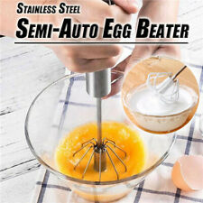 Kitchen Stainless Steel Semi-Auto Beater Self Turning Hand Mixer ✅