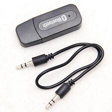 3,5mm USB Bluetooth A2DP AUX Empfänger Adapter Dongle für Musik Audio Stereo MP3