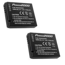 Two 2X Batteries DMW-BCJ13 DMW-BCJ13PP DMW-BCJ13E for Panasonic DMC-LX5 DMC-LX7