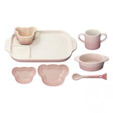 Le Creuset Baby Tableware Dishware Set Heat-resistant Milky Pink 910427-00-176