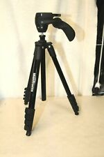"Manfrotto Compact Action Aluminum 5-Section 61"" Tripod, No Ball Screw/Plate"