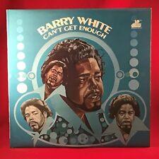 BARRY WHITE Can't Get Enough 1974 UK Vinyl LP EXCELLENT CONDITION