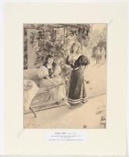 "Oskar Arthur Bluhm (1867-1912), drawing for ""Meggendorfer Blätter"", 1900/1910"