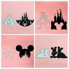 Mickey Minnie Head Scrapbooking Cutting Dies Metal Paper DIY Stencil Card Crafts