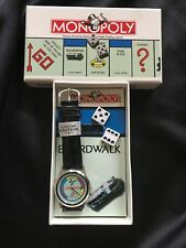 1994 LIMITED EDITION MONOPOLY WATCH SET WITH DICE PARKER BROTHERS