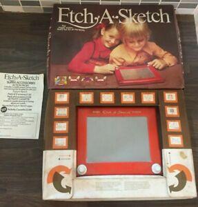 Vintage Etch A Sketch With Original Box
