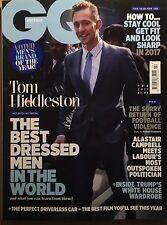 GQ Magazine British February 2017 Tom Hiddleston Ryan Gosling DRAKE LAST COPY