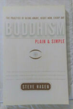 Buddhism Plain & Simple by Steven Hagan - Trade Paperback - Very Good Condition