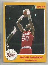Ralph Sampson 1985 Star Company Rockets Crunch 'n Munch All Star NBA Card #12