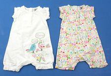 TU 100% Cotton Babygrows & Playsuits (0-24 Months) for Girls