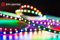 5M WS2812B LED Light Strip 5050 RGB 30/60/144 LEDs/M Individual Addressable DC5V