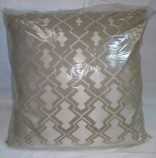 New Deign Accents Cotton Yukata / Ivory  Throw Pillow 20'x20""