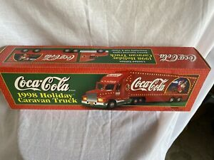 1998 Coca Cola Christmas Semi Truck Holiday Caravan