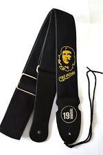 Che Guevara broderie Acoustic Electric Bass Sangle de guitare classique fort difficile