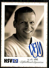 Nico-Jan Hoogma Hamburger SV 2002-03 Autogrammkarte Original Signiert + A 84193