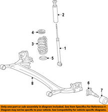 NISSAN OEM 12-18 Versa Rear Suspension-Spindle 430421HA0A