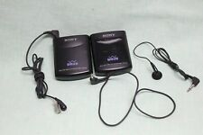 SONY WCS-999 Wireless Microphone System 999T Transmitter & 999R Receiver