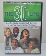 NEW The 3D Life Your Most Important Decisions- 3 Dvds  - T. D. Jakes DVD