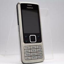 Nokia 6300 - Silver black (Unlocked) Cellular Phone