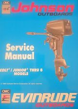 1990 Johnson Evinrude Colt Junior 2 3 4 5 6 8 HP Outboard Service Repair Manual