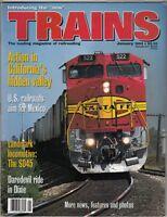 "[43823] ""TRAINS"" MAGAZINE JANUARY 1993 VOL. 53, No. 1 ""SANTA FE RAILROAD"""
