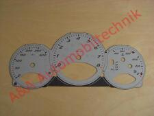 Tachoscheibe Zifferblatt Set Porsche 987 Boxster S und Cayman S MK2 PDK silber