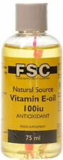 FSC NATURAL SOURCE Vitamin E Oil 75ml BUY 1 GET 1 FREE