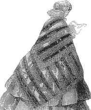 Victorian Coat Civil War Shawl Mantle Cloak Paper PATTERN One-Size New 1857