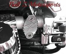 Hayabusa Chrome Ball Cut Brake & Clutch Mastercylinder/Reservoir Clamps 99-07-17