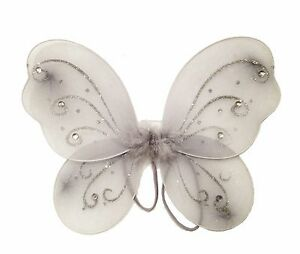 """12"""" x 10 3/4"""" Butterfly Angel Fairy Wing for Baby Infant Toddler Child Costume"""