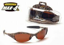 Polarized AES Sports, Camo Amber Lens Sunglasses, NEW