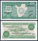 BURUNDI 10 Francs Francos 2007 Pick 33e SC / UNC