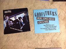 2 The Godfathers Promo Poster 12x12 Cd. album vintage Music. alt rock