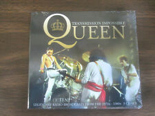 Queen - 3 Cd set - Transmission Impossible - Legendary Radio Broadcasts