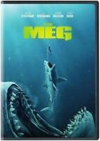 The Meg (DVD, 2018) Jason Statham