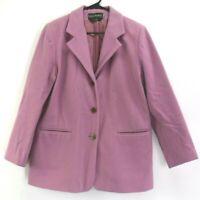 Harve Benard By Benard Holtzman Women's Size 14 Wool Cashmere Blazer Jacket