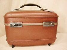 Vtg American Tourister Carry On Train Case Luggage Suitcase Over Night 14x10x9
