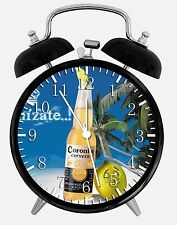 "Corona Beer Alarm Desk Clock 3.75"" Home or Office Decor W212 Nice For Gift"