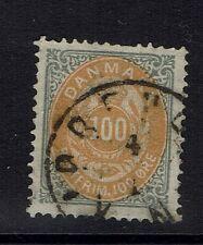Denmark Sc# 34 - Used (Few Nibbed Top Perfs) - Lot 012917