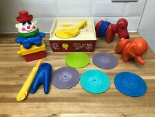 Vintage Fisher Price Record Player Records, Tuperware Toys Zoo Humpty Dumpty