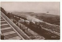 The Mumbles Train Swansea Vintage RP Postcard Railway South Wales Glamorgan 143c