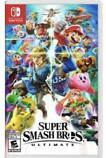 Super Smash Bros. Ultimate Video Game For Switch - Brand New Sealed