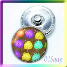 (Cart ANY 4, 2 w/be FREE) SPRING ART DREAM TREES Ginger Snap Button Charm
