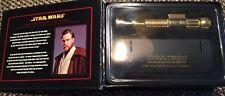 Master Replicas .45 Obi-Wan Kenobi Lightsaber Scaled  (Gold) Revenge of the Sith